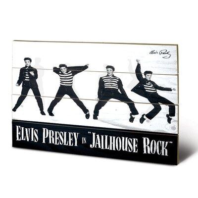 Art Group Elvis Jailhouse Rock Vintage Advertisement Plaque