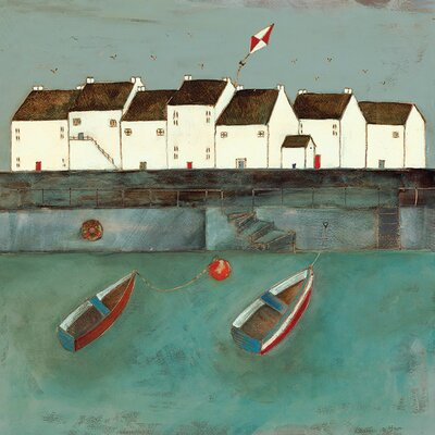 Art Group Floating On A Light Breeze by Louise O'Hara Canvas Wall Art
