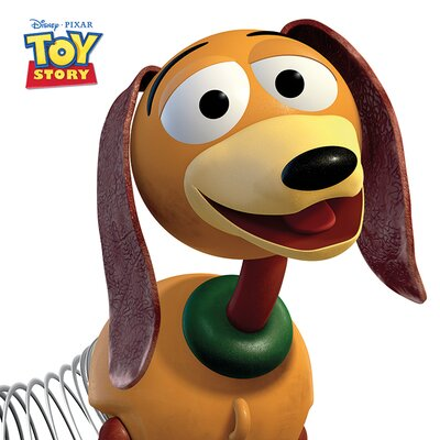 Art Group Toy Story Slinky Dog Canvas Wall Art