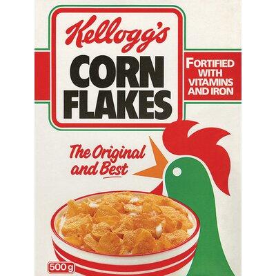 Art Group Kellogg's Corn Flakes - Classic Vintage Advertisement Canvas Wall Art