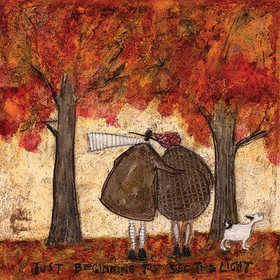 Art Group Just Beginning To See The Light by Sam Toft Canvas Wall Art