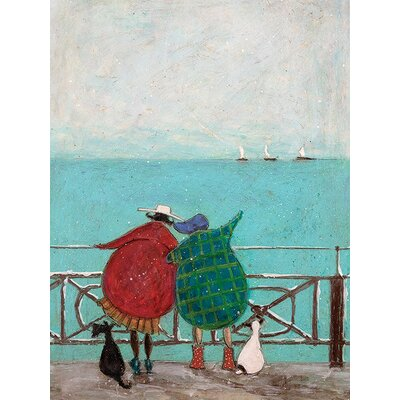 Art Group We Saw Three Ships Come Sailing By by Sam Toft Canvas Wall Art