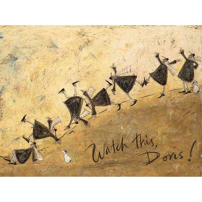 Art Group Watch This, Doris! by Sam Toft Canvas Wall Art