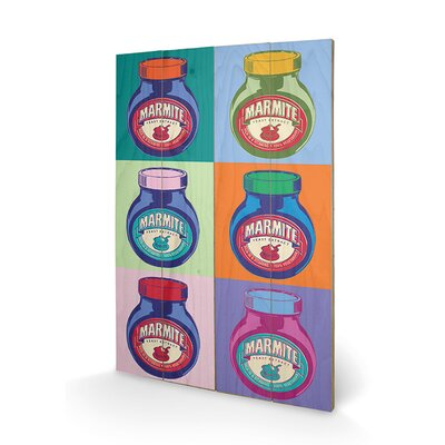Art Group Marmite Pop Art Graphic Art Plaque