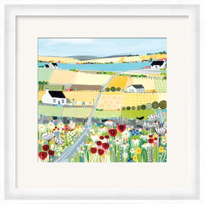 Art Group Bright Meadow by Janet Bell Framed Art Print