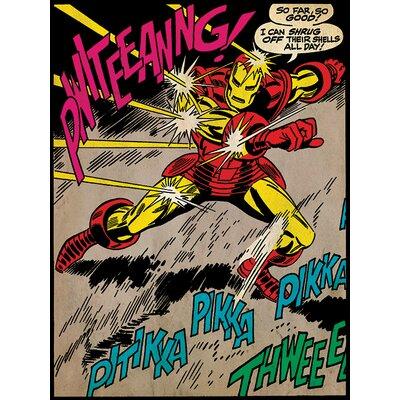 Art Group Iron Man So Far So Good Canvas Wall Art