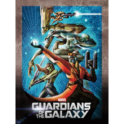 Art Group Guardians of The Galaxy Orb Vintage Advertisement Canvas Wall Art