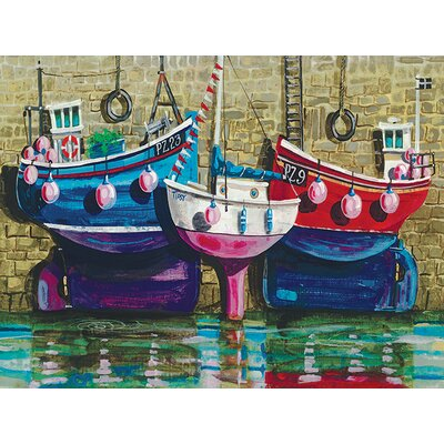 Art Group Tipsy By The Sea by Jeremy Thompson Canvas Wall Art