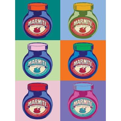 Art Group Marmite Pop Canvas Wall Art