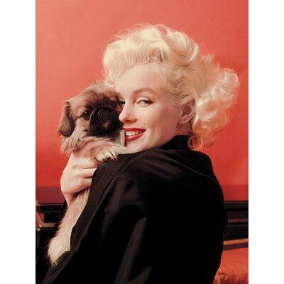 Art Group Marilyn Monroe Love Canvas Wall Art