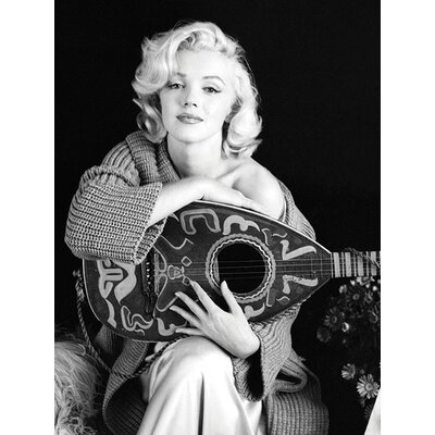 Art Group Marilyn Monroe Lute Canvas Wall Art
