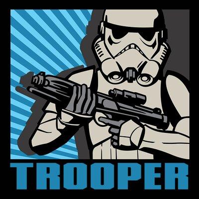 Art Group Star Wars Rebels Trooper Canvas Wall Art