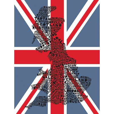 Art Group Citography - Great Britain Canvas Wall Art