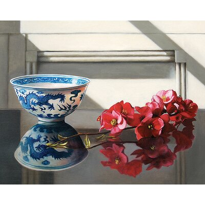 Art Group Rice Bowl And Japonica by Andrew Mcneile Jones Canvas Wall Art