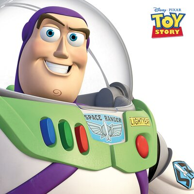 Art Group Toy Story Buzz Lightyear Canvas Wall Art