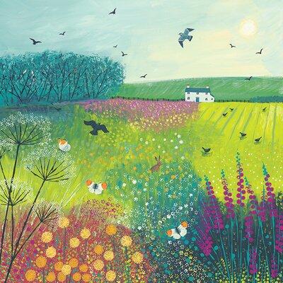 Art Group Midsummer Meadow by Jo Grundy Canvas Wall Art