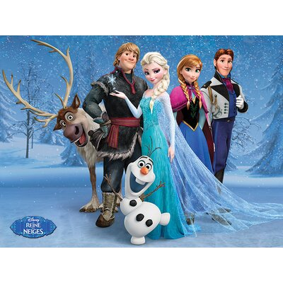 Art Group Frozen Group French Canvas Wall Art