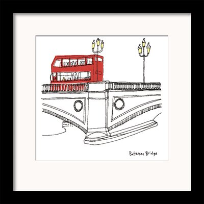 Art Group London III by Susie Brooks Framed Graphic Art