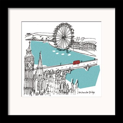 Art Group London I by Susie Brooks Framed Art Print