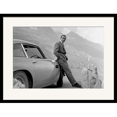 Art Group James Bond Aston Martin Framed Photographic Print