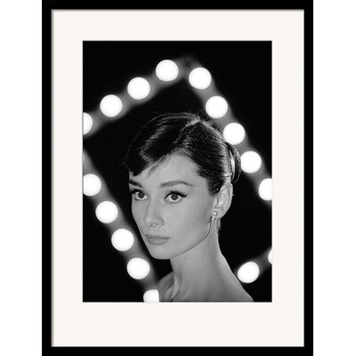 Art Group Time Life Audrey Hepburn Framed Photographic Print
