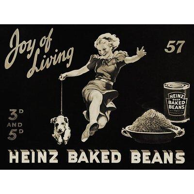 Art Group Heinz Joy Of Living Vintage Advertisement Canvas Wall Art