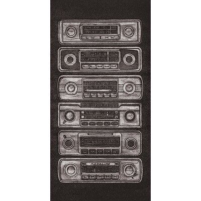 Art Group Radio Stack by Barry Goodman Canvas Wall Art