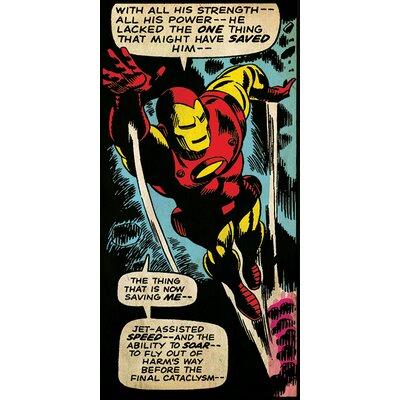 Art Group Iron Man Strength Canvas Wall Art