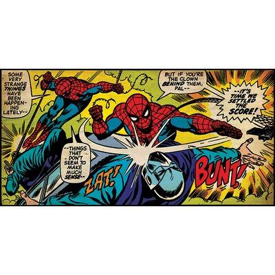 Art Group Spider-Man Settle The Score Canvas Wall Art