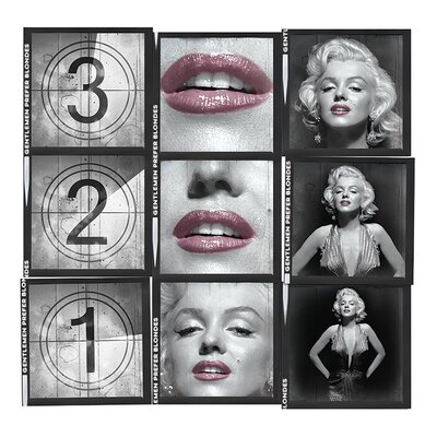 Art Group Marilyn Monroe 321 Canvas Wall Art