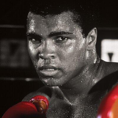 Art Group Muhammad Ali Boxing Gloves Canvas Wall Art