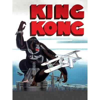 Art Group King Kong Kong Canvas Wall Art