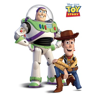 Art Group Toy Story Buzz And Woody Canvas Wall Art