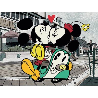 Art Group Mickey Shorts Mickey And Minnie Canvas Wall Art
