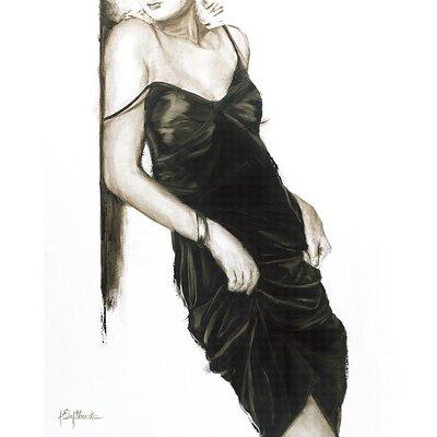 Art Group Little Black Dress I by Janel Eleftherakis Canvas Wall Art
