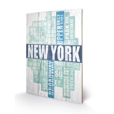 Art Group New York Type by Barry Goodman Typography Plaque