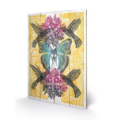 Art Group Hummingbirds by Amanda Colville Art Print Plaque