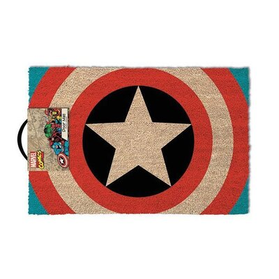 Art Group Captain America Shield Doormat
