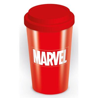 Art Group Marvel Logo Travel Mug