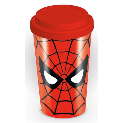 Art Group Marvel Retro Spider-Man Eyes Travel Mug