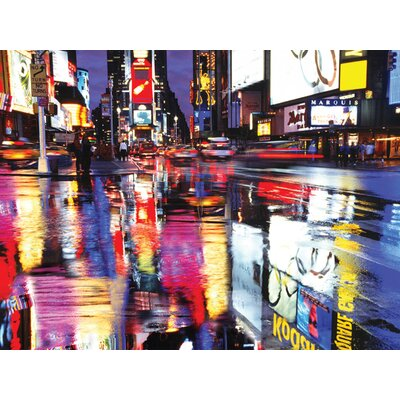Art Group Times Square Colours Canvas Wall Art