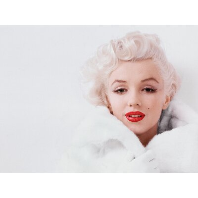 Art Group Marilyn Monroe - White Canvas Wall Art