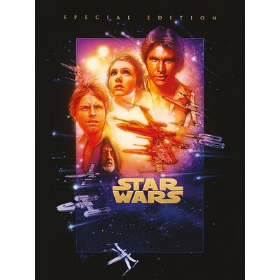 Art Group Star Wars Episode IV - a New Hope Vintage Advertisement Canvas Wall Art