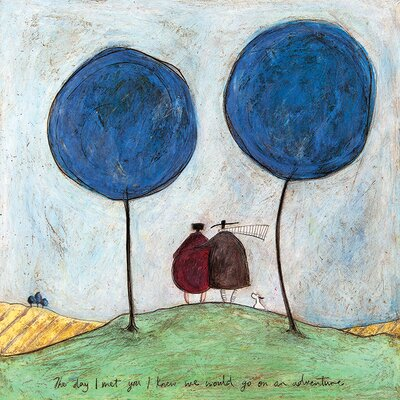 Art Group Sam Toft - The Day I Met You Canvas Wall Art