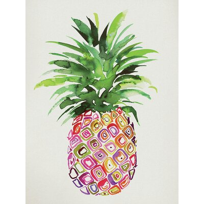 Art Group Summer Thornton - Pineapple Canvas Wall Art