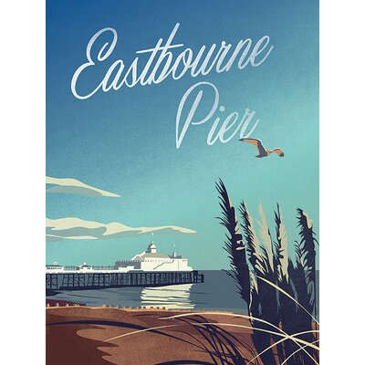 Art Group Adam Mcnaught-Davis - Eastbourne Pier Canvas Wall Art