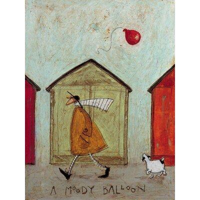 Art Group Sam Toft - A Moody Balloon Canvas Wall Art