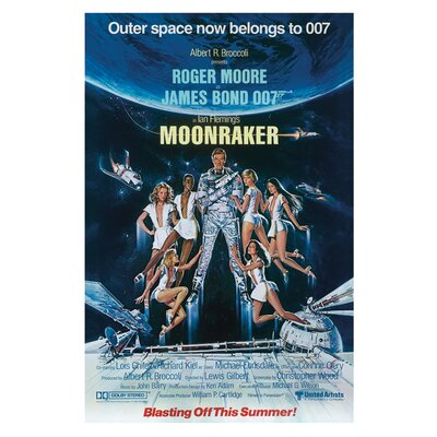 Art Group James Bond - Moonraker Canvas Wall Art