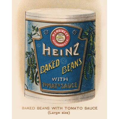 Art Group Heinz Vintage Beans Can Vintage Advertisement Canvas Wall Art