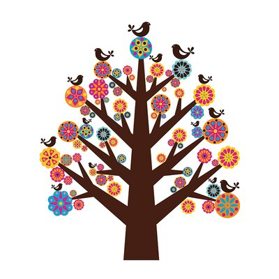 Art Group D - Tree of Flowers Valentina Ramo Canvas Wall Art